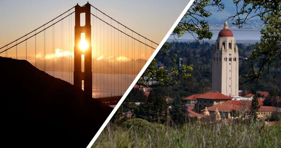 San Francisco vs. the Peninsula/South BayIt's an epic battle between The City and that slightly more southern region below The City on the map. Which area will come out on top? Click through to find out. Photo: SFGATE Photo Illustration
