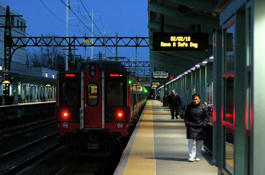 A view of the Metro-North Railroad's Fairfield Metro station in Fairfield, Conn. on Tuesday Feb. 2, 2016. On Tuesday afternoon, Governor Dannel P. Malloy G announced that ridership on the New Haven commuter rail line for 2015 surpassed 40.3 million passenger trips, setting an all-time record. Photo: Christian Abraham / Hearst Connecticut Media / Connecticut Post