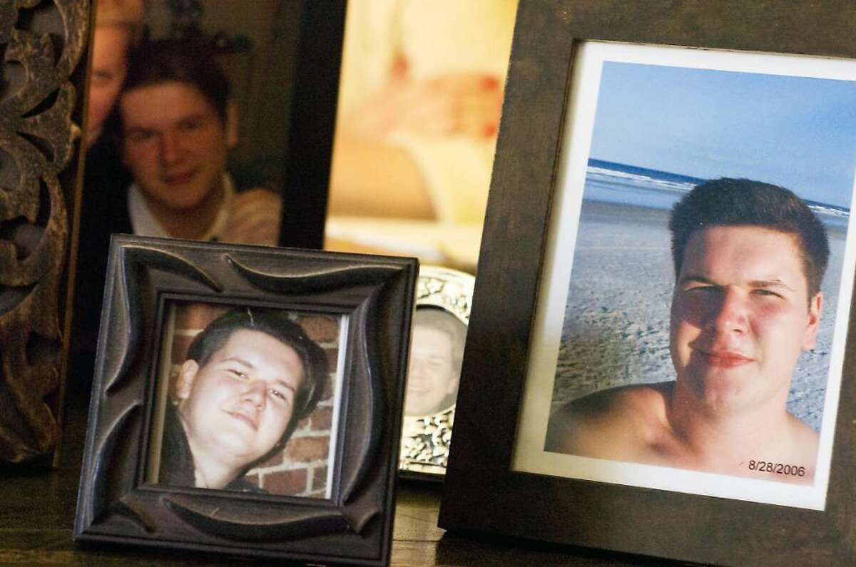 Barbara Green recently filed a complaint to the Federal Highway Traffic Safety Administration that sudden acceleration in her son Blazej Ignatowicz's 2000 Toyota Solara caused a fatal accident on Dec. 1, 2006. She sits in her home with pictures of her late son