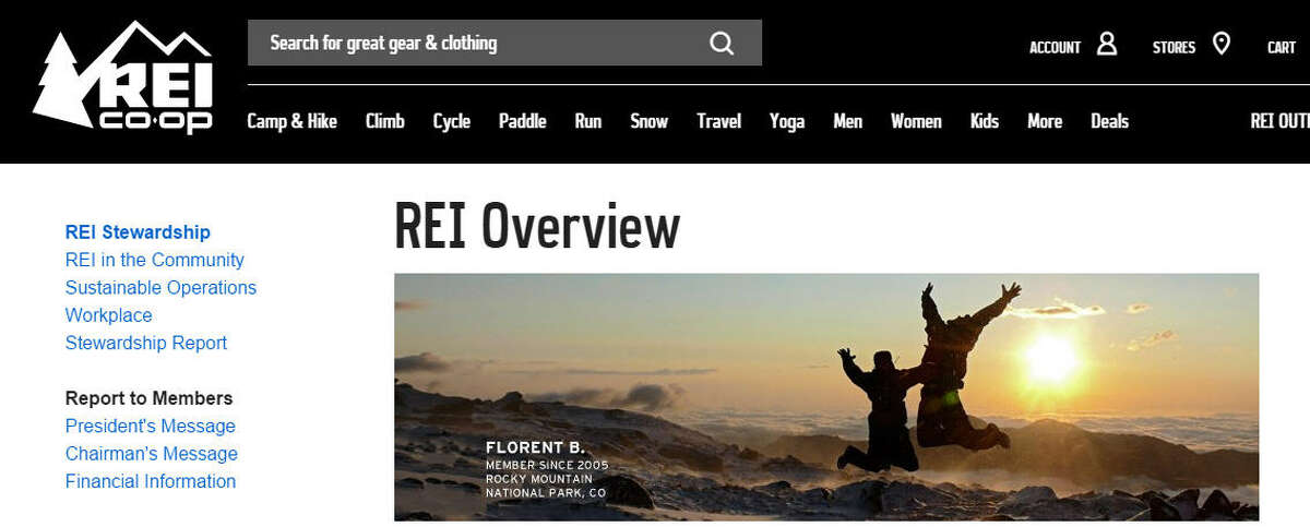 """REI * Encourages its employees to get outside by offering two paid days off, called """"Yay Days,"""" a year to enjoy their favorite outside activity Overall Benefits Rating: 4.0 Source:Glassdoor"""
