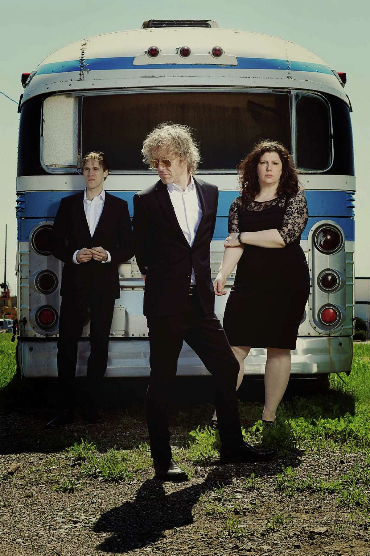 """The rock band Low - Alan Sparhawk, center, Mimi Parker and Steve Garrington - are touring behind new album """"Ones and Sixes."""""""