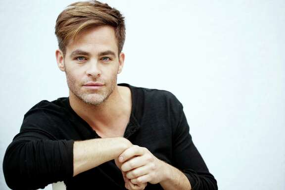 """In this Jan. 12, 2016 photo, actor Chris Pine, from the upcoming film """"The Finest Hours,"""" poses for a portrait at The London hotel in West Hollywood, Calif. Pine, 35, has established himself as one of the most recognizable stars of his generation. His third """"Star Trek"""" movie is coming this summer, followed by """"Wonder Woman"""" in 2017. His latest, """"The Finest Hours,"""" is out Friday, Jan. 29. (Photo by Matt Sayles/Invision/AP)"""