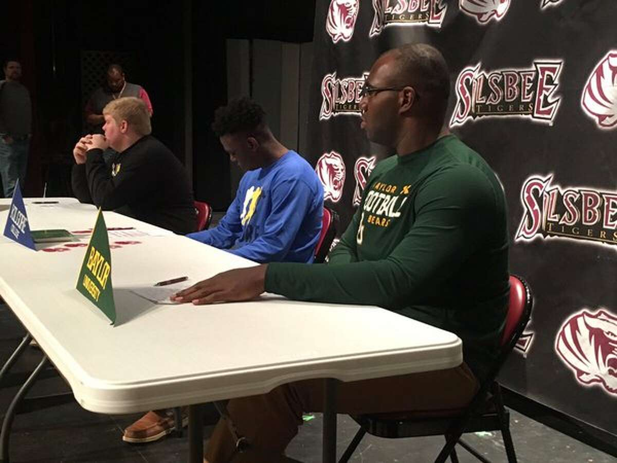 Silsbee's Patrick Hudson, before signing with Baylor University.
