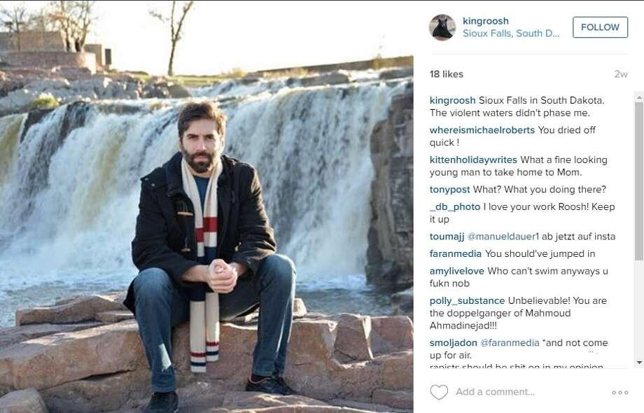 Daryush Valizadeh, leader of Return of Kings Photo: Instagram/kingroosh