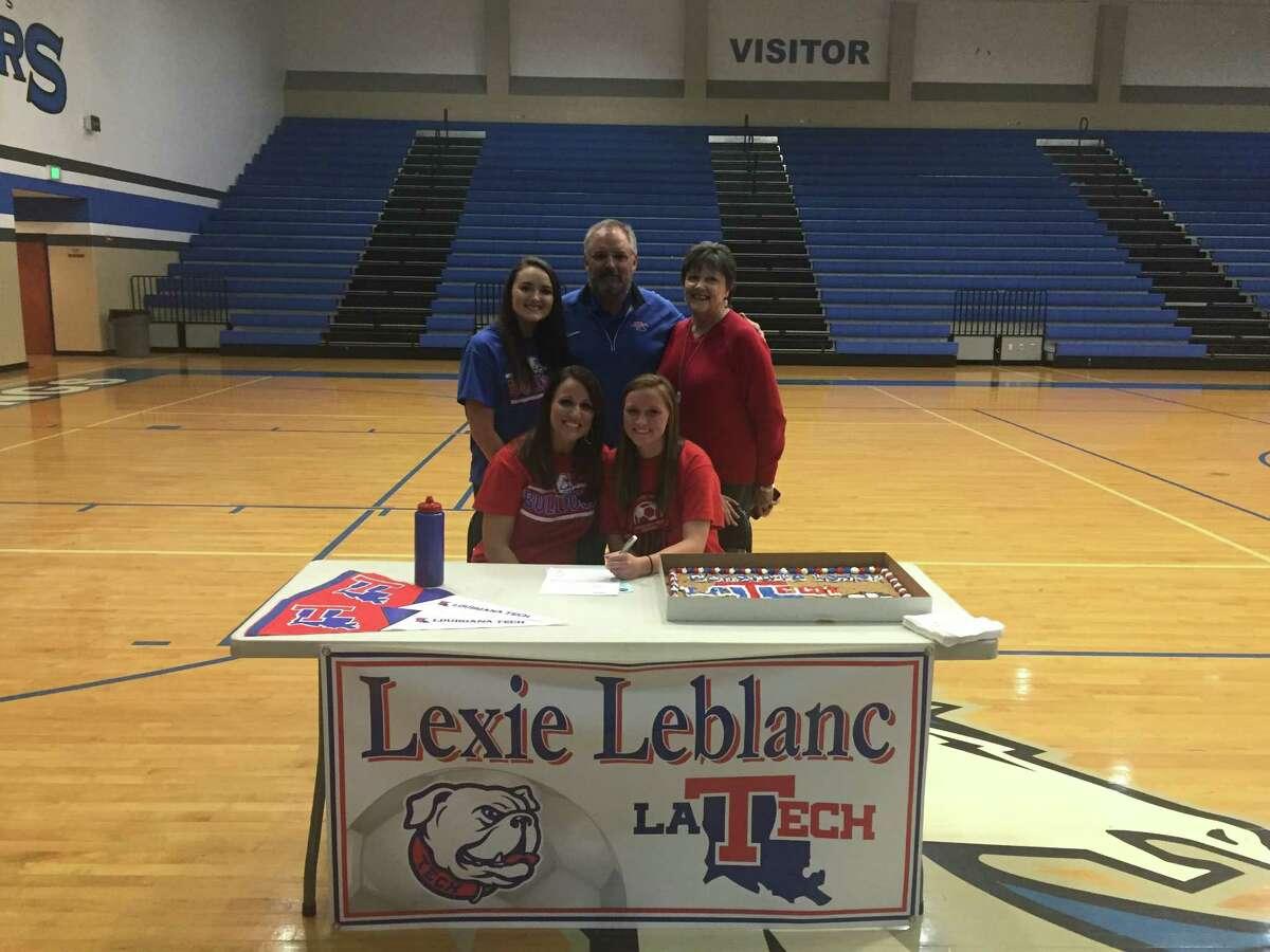 Lexie Leblanc, Clear Springs soccer