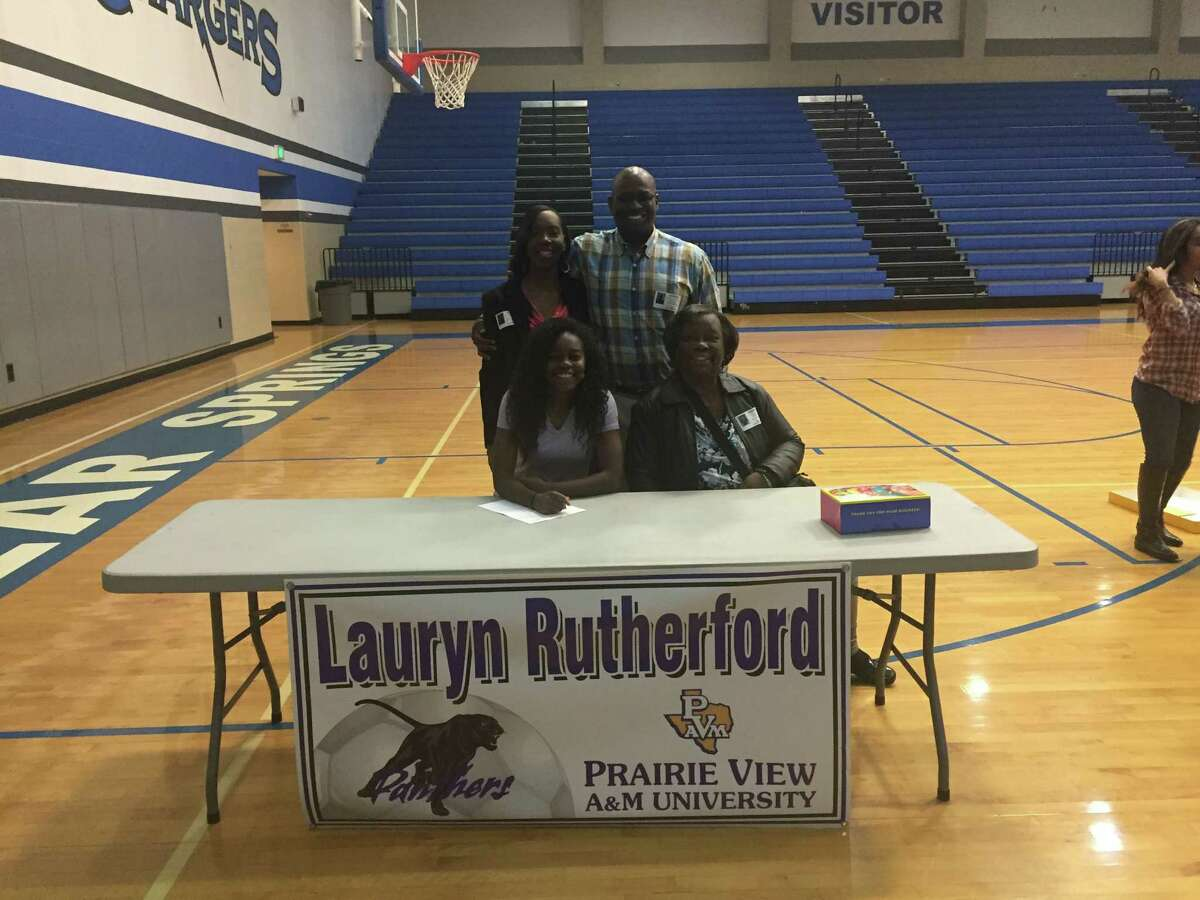 Lauryn Rutherford, Clear Springs soccer