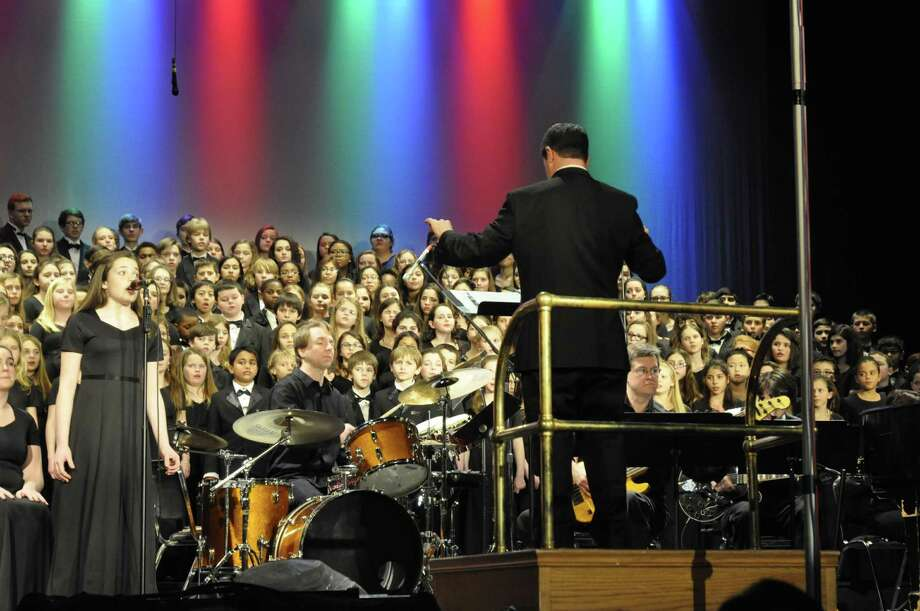 """The Fairfield County Children's Choir, with about 300 members, will offers it popular """"Broadway"""" concert on Saturday, Feb. 6, at the Klein Memorial Auditorium in Fairfield. Photo: Contributed Photo"""