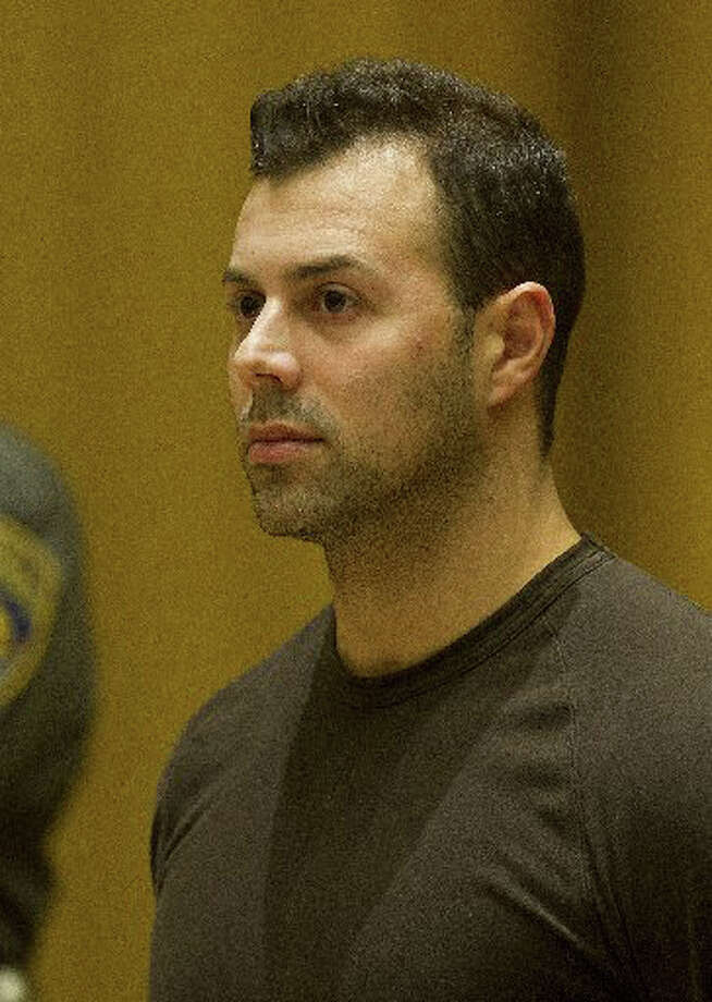 Anthony Manousos, 34, was convicted of first-degree arson Wednesday at state Superior Court in Stamford. The Stamford landlord and Norwalk resident set fire to his Highland Road apartment building in December 2014. Photo: Lindsay Perry, Hearst Connecticut Media / Stamford Advocate