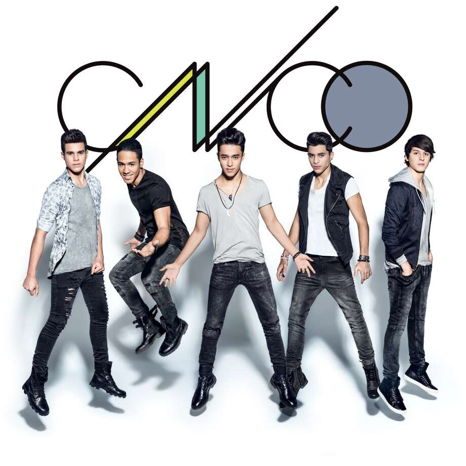 """CNCO, the boy band formed on the first season of """"La Banda.""""     KEEP CLICKING TO SEE HOUSTON GUYS WHO COULD MAKE THE CUT. Photo: Univision"""
