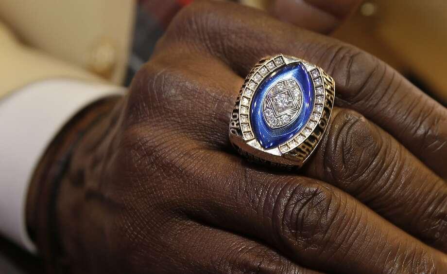 Super Bowl Wedding Ring