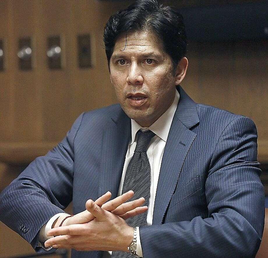 Senate President pro Tempore Kevin de León. Photo: Liz Hafalia, The Chronicle