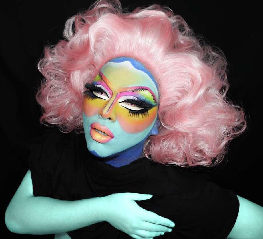 Houston drag queen and makeup artist Lushious Massacr. Photo: Lushious Massacr