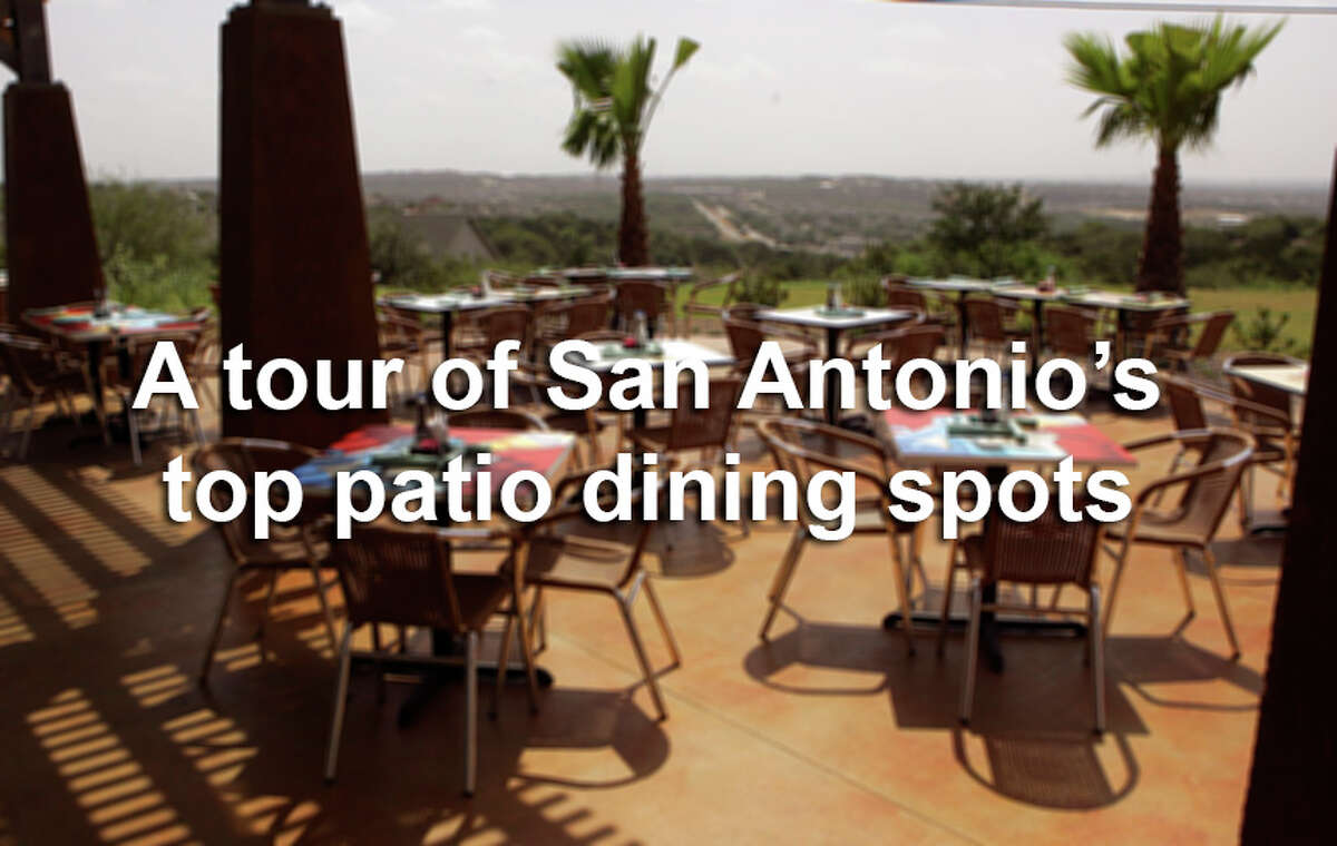 From Southtown to Stone Oak, San Antonio's patio dining scene has something for everyone.