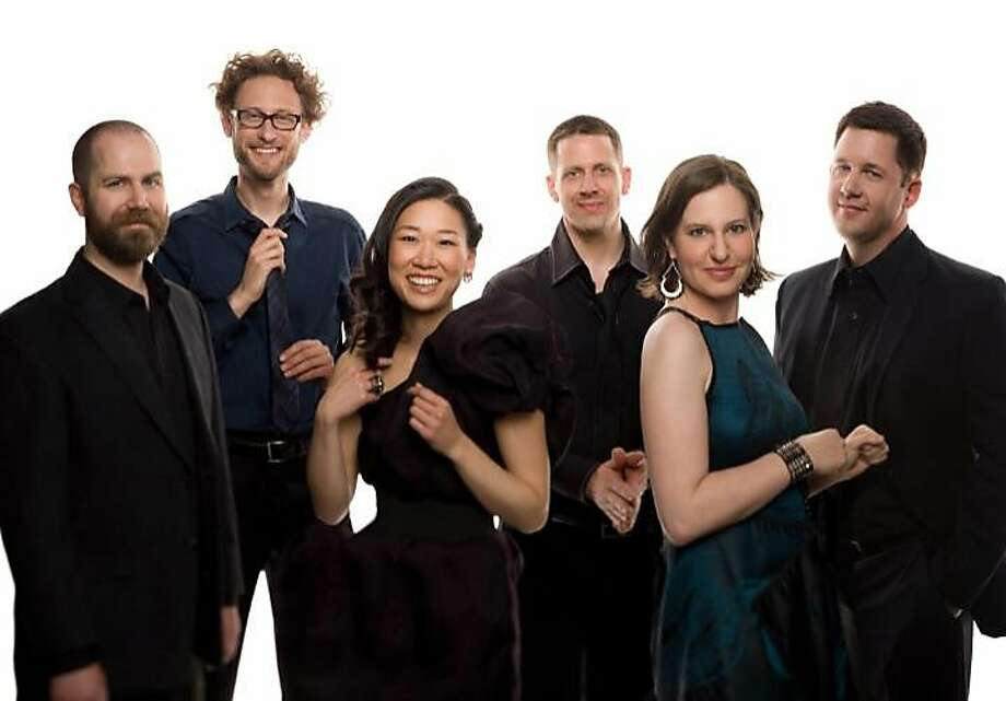 Eighth Blackbird presented a six-part work by the composers' collective Sleeping Giant. Photo: Cal Performances