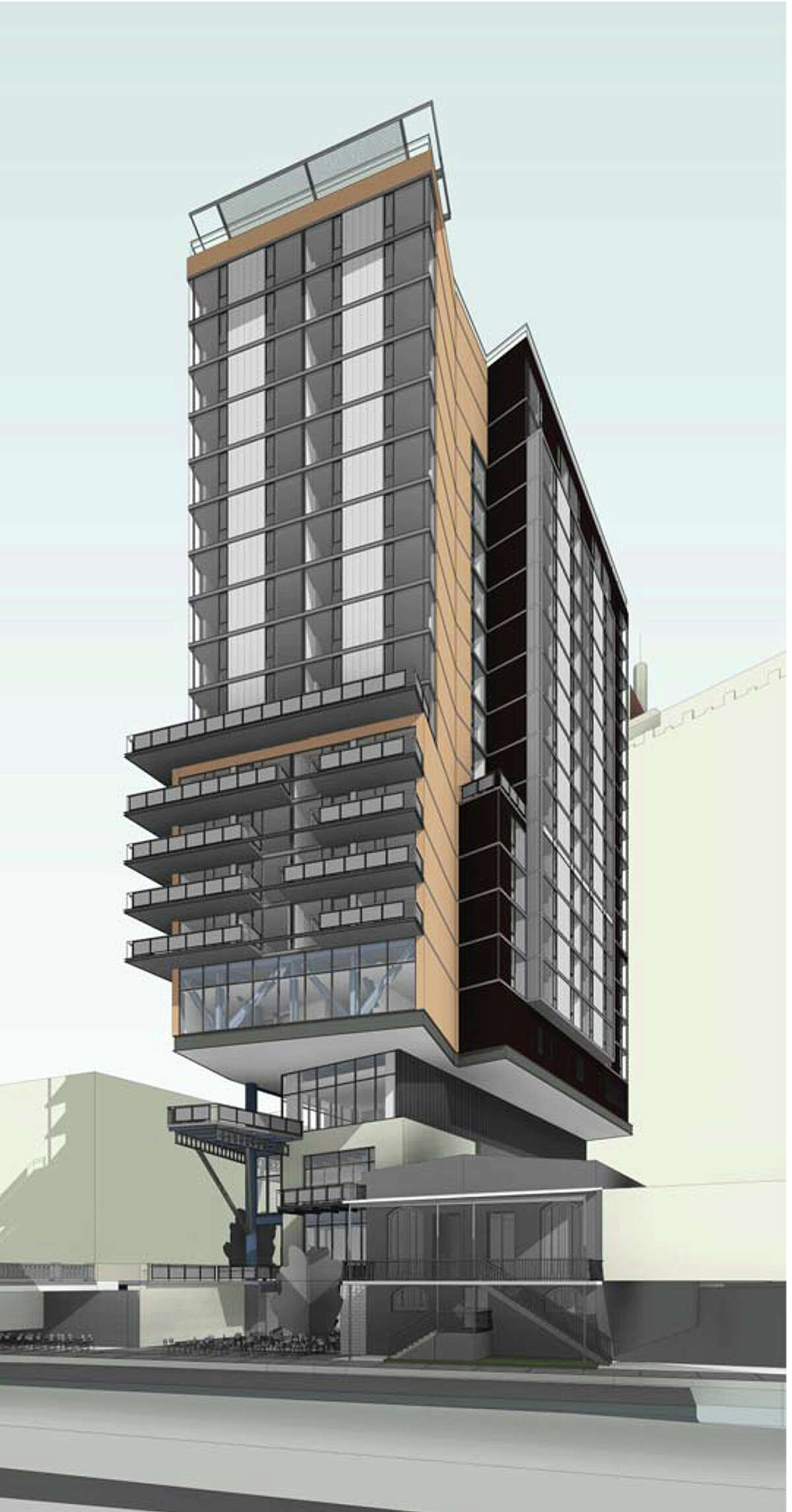 The Canopy by Hilton hotel building is estimated to cost between $55 million and $60 million. Construction is set to begin within six months and last for about 20 months.