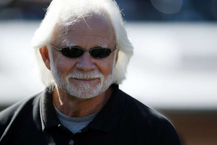 FILE - In this Oct. 25, 2009, file photo, former Oakland Raiders quarteback Ken Stabler watches during pregame of an NFL game between the New York Jets and the Raiders in Oakland, Calif.  Stabler, the late NFL MVP and Super Bowl winner who is a finalist for the Pro Football Hall of Fame, has been diagnosed with the brain disease CTE, Boston University researchers say. (AP Photo/Ben Margot, File)