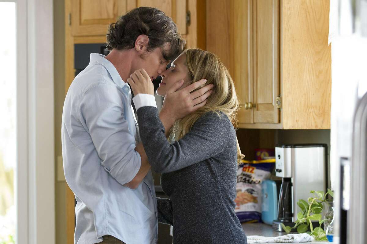 This image released by Lionsgate shows Benjamin Walker, left, and Teresa Palmer in a scene from