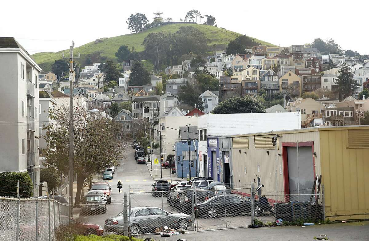 1296 Shotwell in San Francisco, Calif., on Wednesday, February 3, 2016. This site is one of several in San Francisco that property owners might be given the right to build up 2 more stories in exchange for making the buildings 30 percent affordable housing.