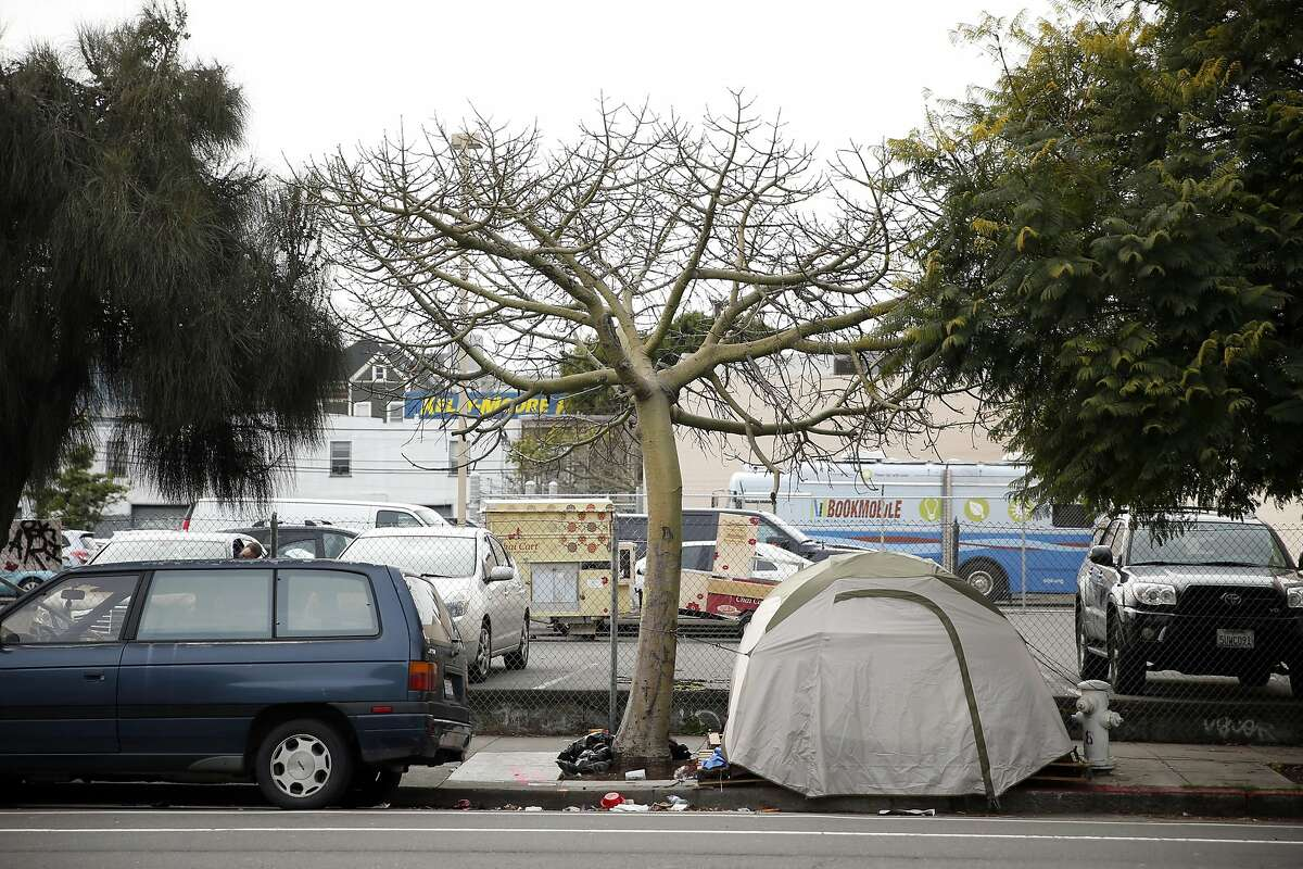 A parking lot at 2070 Folsom in San Francisco, Calif., on Wednesday, February 3, 2016. This site is one of several in San Francisco that property owners might be given the right to build up 2 more stories in exchange for making the buildings 30 percent affordable housing.