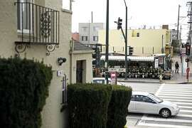 Papadopoulos Brothers Florist at 1001 Quintara in San Francisco, Calif., on Wednesday, February 3, 2016. This site is one of several in San Francisco that property owners might be given the right to build up 2 more stories in exchange for making the buildings 30 percent affordable housing.