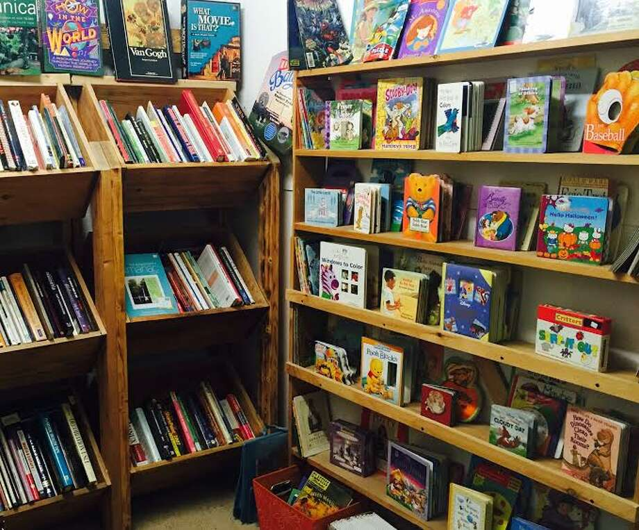 Saratoga Book Warehouse is giving away 20,000 children's books. Kids 18 and younger can go to the bookstore on Weibel Avenue during the first week of each month to choose a book. (Alyssa Rose)
