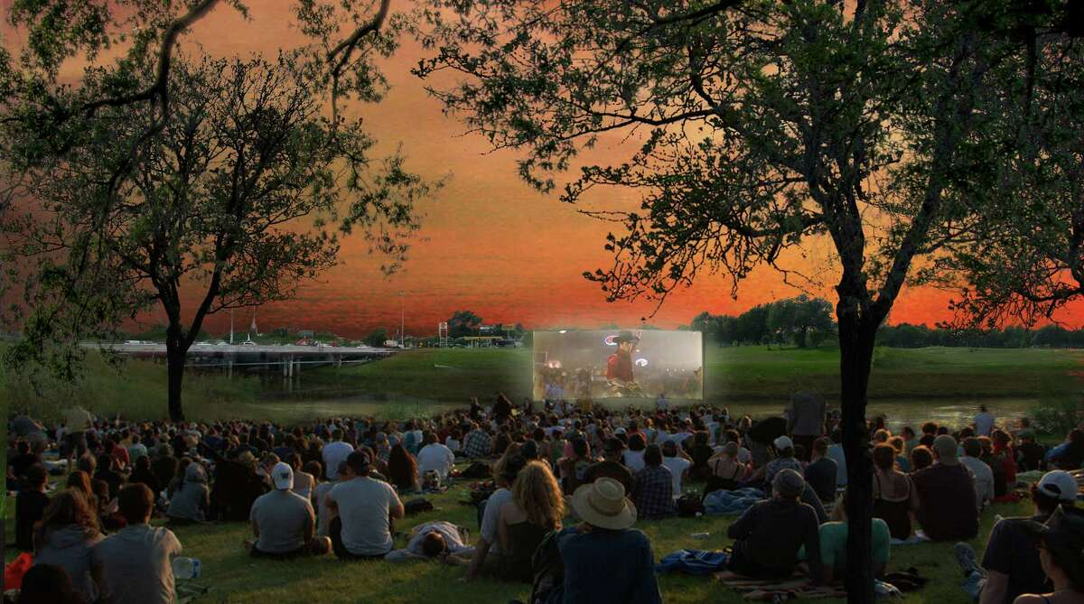 Lawn space could accommodate events ranging from movie nights to plant sales.