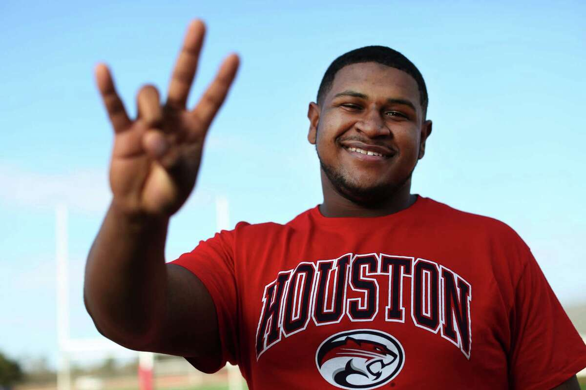 Keenan Murphy of Crosby is a member of the 2016 UH recruiting class, the best in school history.