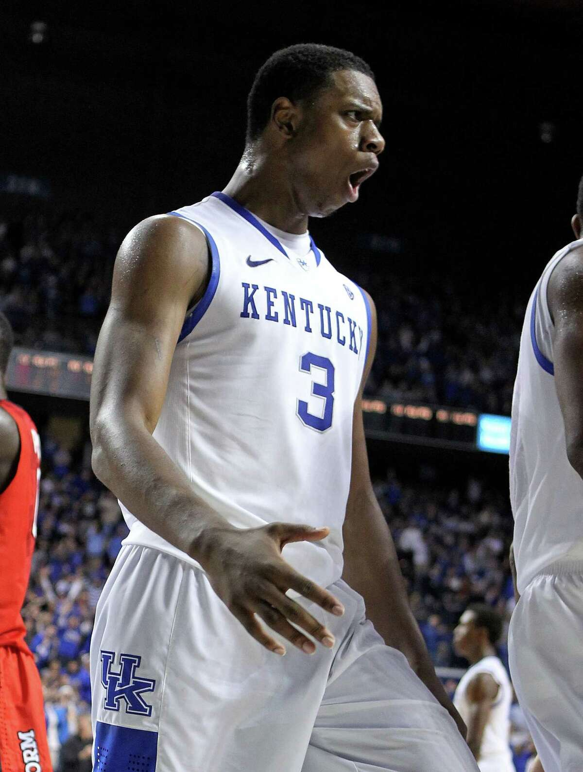 Terrence Jones played his college ball at Kentucky, where he won a National Championship at the conclusion of the 2011-12 season.