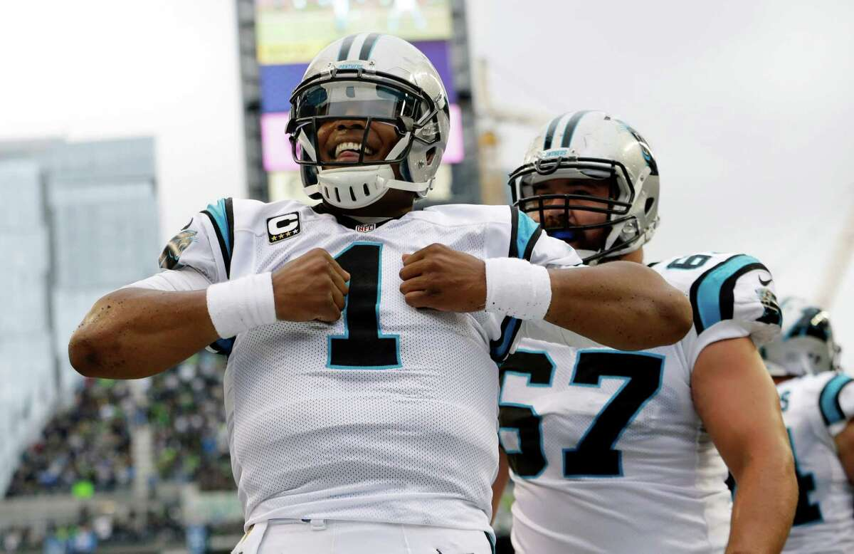How many times will Cam Newton do the open shirt Superman motion during the game? Over 2.5: EVEN Under 2.5: -140