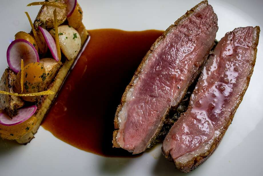 The Duck Magret at Volta in San Francisco. Photo: John Storey, Special To The Chronicle
