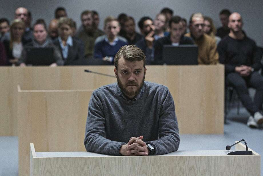"Pilou Asbæk stars as a Danish army officer fighting in Afghanistan who orders an air strike that results in civilian deaths in Tobias Lindholm's ""A War,"" one of the nominees for the best foreign language film Academy Award. Photo: Magnolia Pictures"
