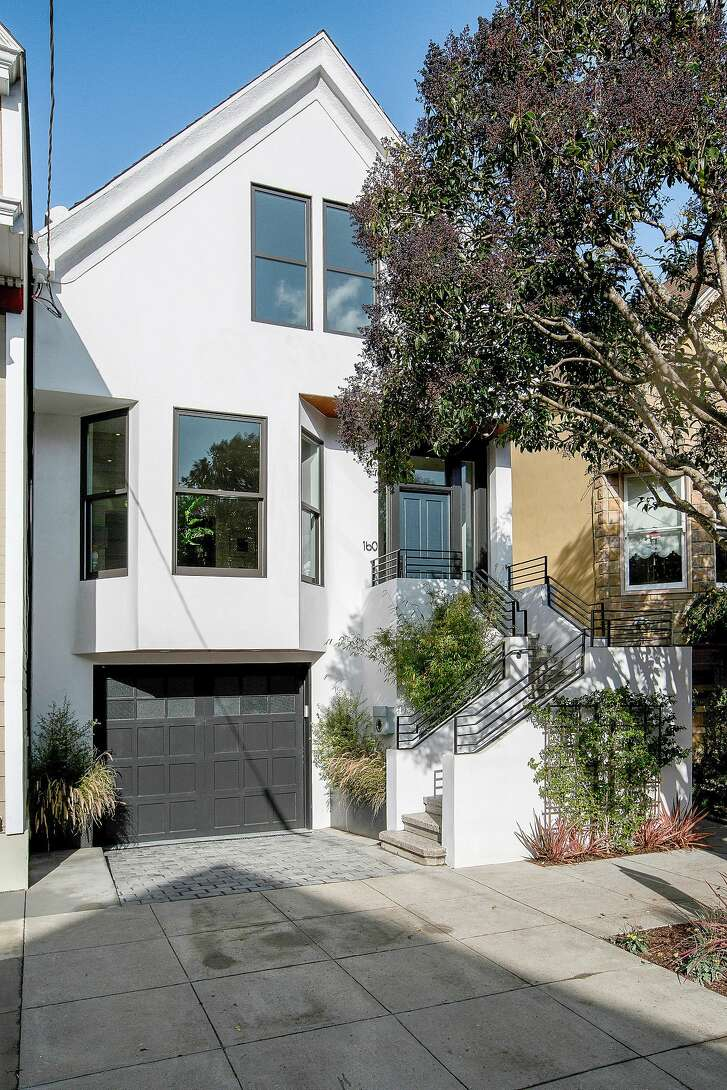 160 27th St. in southern Noe Valley offers three-levels of luxury, four bedrooms and about 3,500 square-feet of living space.