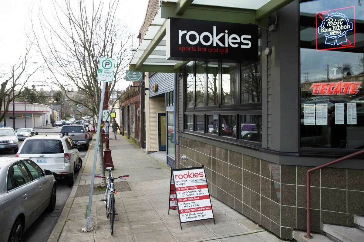 Columbia City: Rookies 3820 S. Ferdinand St.Seattle, 98118(206) 722-0301Rookies is going all out on Super Bowl Sunday, with drink and food specials. For those hoping to emulate Marshawn Lynch at the Seahawks' Super Bowl victory parade, they will be offering $6 cinnamon whiskey shots as well as $7 touchdowns. They'll also be serving $6 wings, which usually run for $11.