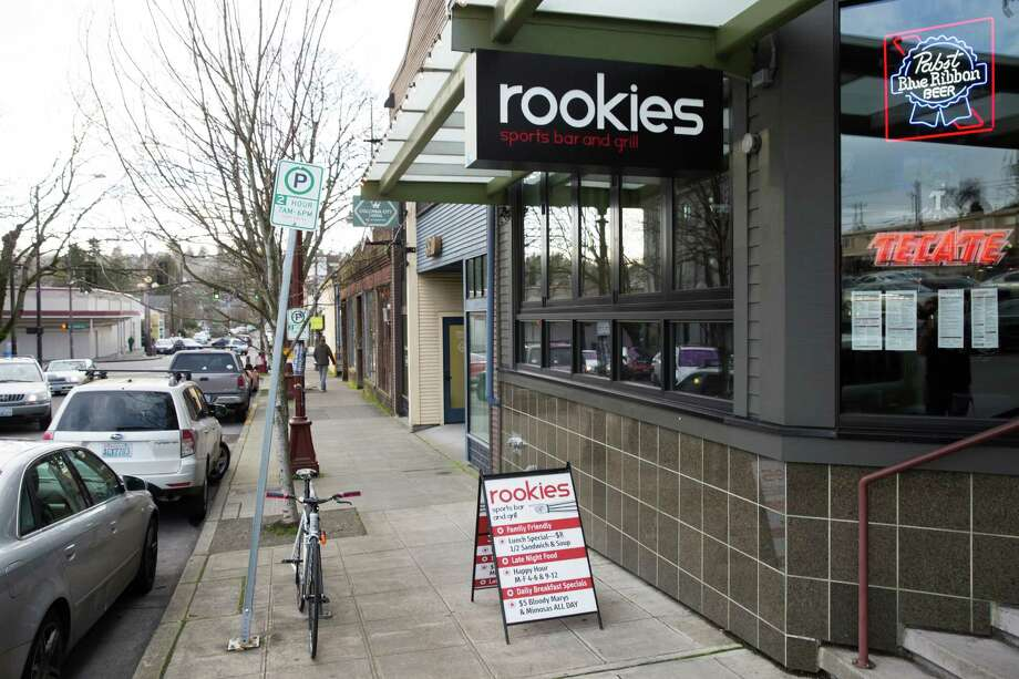 Columbia City: Rookies3820 S. Ferdinand St.Seattle, 98118(206) 722-0301Rookies is going all out on Super Bowl Sunday, with drink and food specials. For those hoping to emulate Marshawn Lynch at the Seahawks' Super Bowl victory parade, they will be offering $6 cinnamon whiskey shots as well as $7 touchdowns. They'll also be serving $6 wings, which usually run for $11. Photo: GRANT HINDSLEY, SEATTLEPI.COM / SEATTLEPI.COM