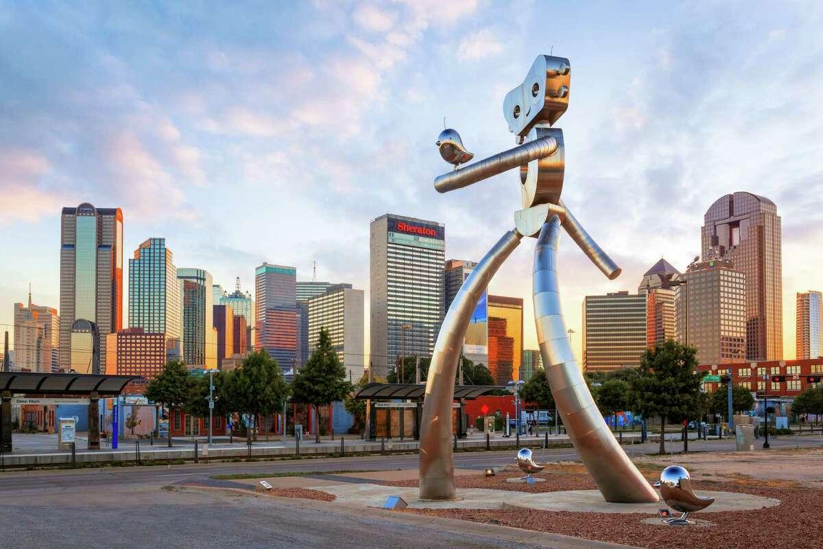 8. Dallas Median college grad income: $37,000 Affordability score (100.0 = more affordable): 88.5 LinkedIn New Grad Job Index (1.00 = more jobs): 0.72