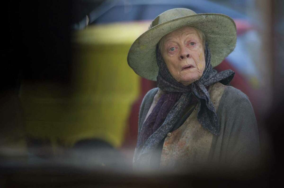 """Maggie Smith in """"The Lady in the Van."""" (Nicola Dove/Sony Pictures Classics)"""