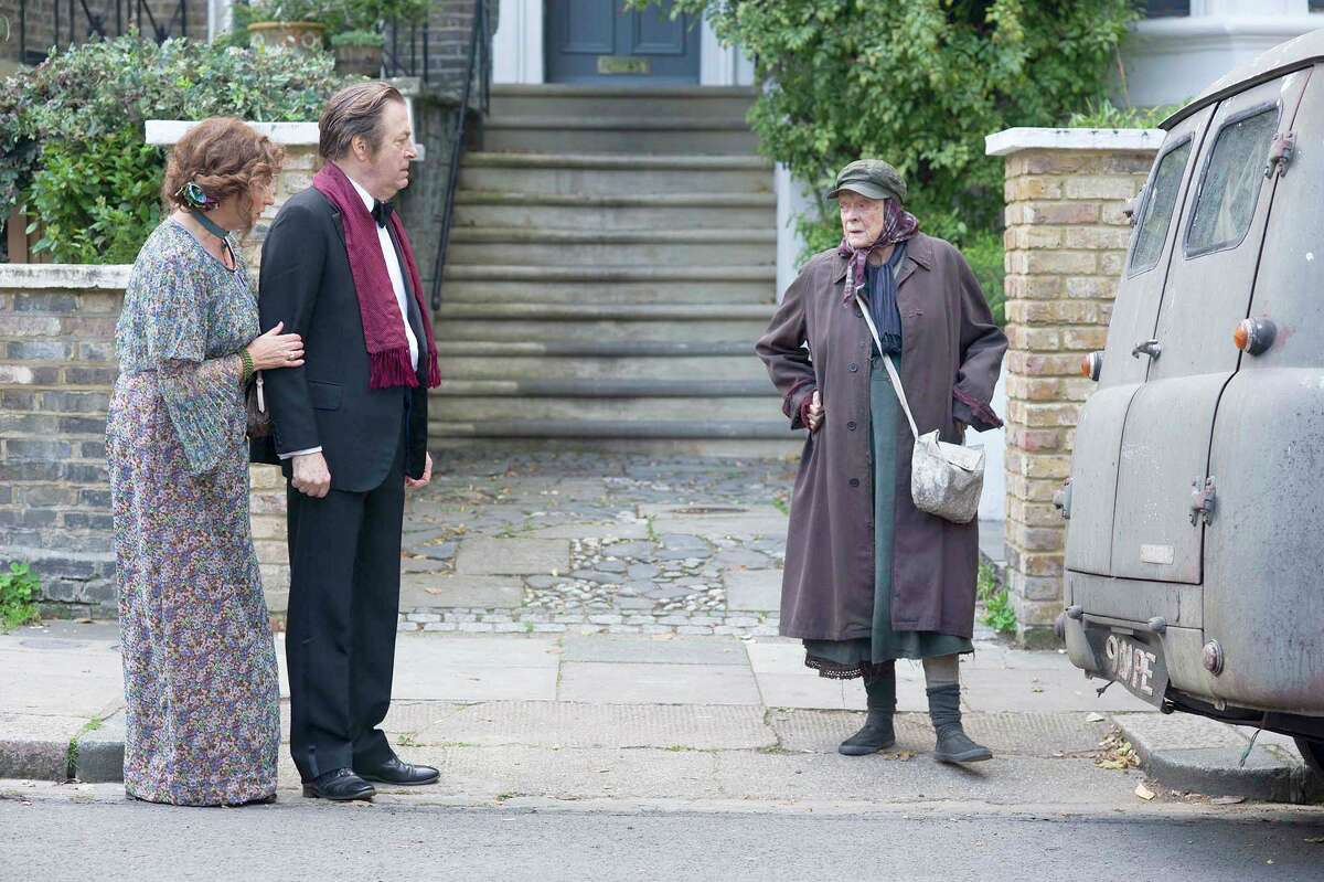 """Maggie Smith stars as Mary Shepherd, who parks her squalid home in a nice neighborhood, in """"The Lady in the Van."""""""