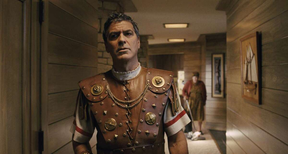 """Hail, Caesar! GEORGE CLOONEY stars as Baird Whitlock in """"Hail, Caesar!."""" Four-time OscarAE-winning filmmakers Joel and Ethan Coen produce and direct the all-star comedy set during the latter years of Hollywood's Golden Age. Universal Pictures"""