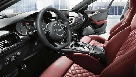 The 2016 Audi S6 has a scrumptious cabin with the driver enjoying the best seat in the house thanks to standard features like the flat-bottom multi-function steering wheel, aluminum pedals and footrest and heated 12-way power sports seats.