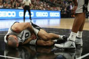 Spurs still struggling to come to grips with Ginobili's freak injury - Photo