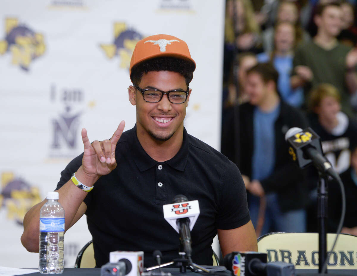 Nacogdoches High School football Brandon Jones was a Signing Day surprise for Texas, helping the Longhorns break into the Top 10 of most national lists.