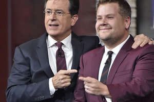Late-night scores! Colbert, Corden snag post-game slots - Photo