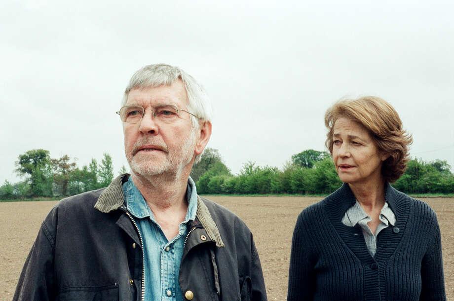 "Tom Courtenay (Geoff) and Charlotte Rampling (Kate) in ""45 Years."" MUST CREDIT: Agatha A. Nitecka, Sundance Selects / © 45 Years Films Ltd. A Sundance Selects Release."