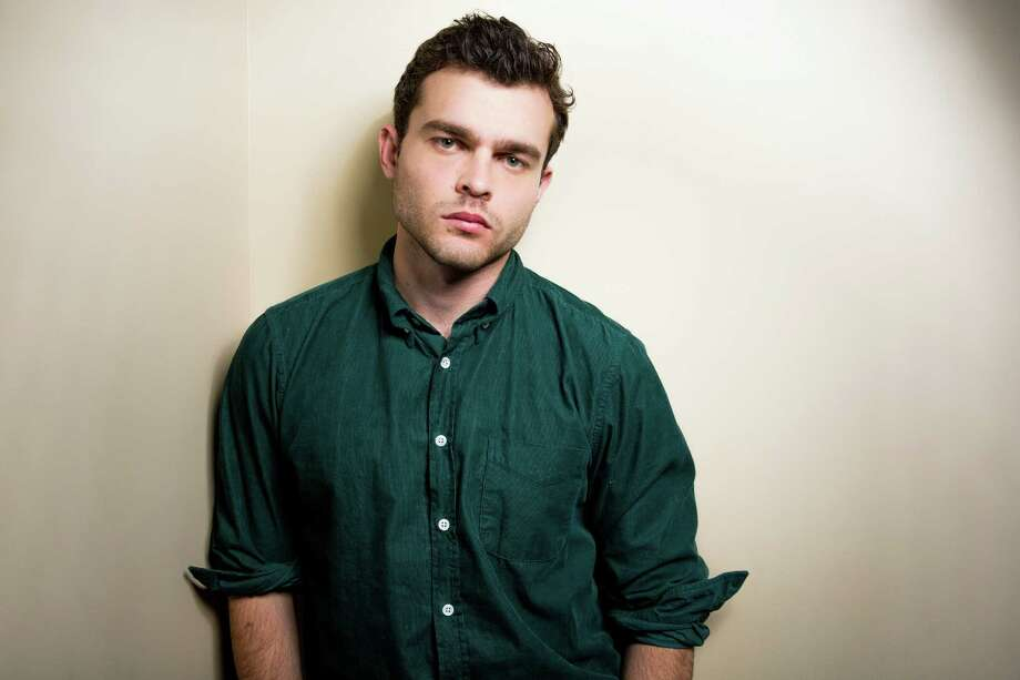 """In this Monday, Feb. 1, 2016 photo, Alden Ehrenreich poses for a portrait in Los Angeles. At the age of only 26, """"Hail, Caesar!"""" star Ehrenreich,  has already caught the attention of the Coens, Steven Spielberg, Francis Ford Coppola, Woody Allen and Warren Beatty. The film opens in U.S. theaters on Friday, Feb. 5. (Photo by Rich Fury/Invision/AP) ORG XMIT: CARF104 Photo: Rich Fury / Invision"""