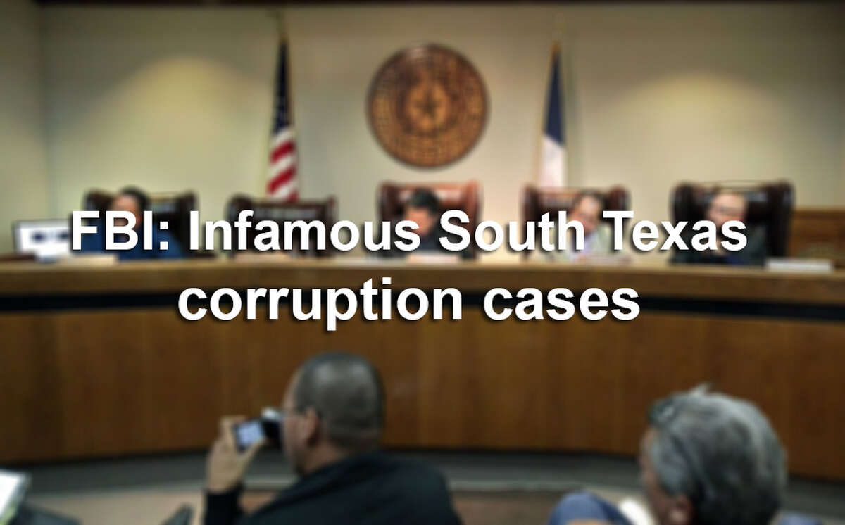 Timeline: High-profile South Texas FBI corruption cases since 2015.