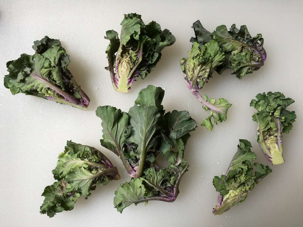 Versatile kalettes are a cross between kale and Brussels sprouts