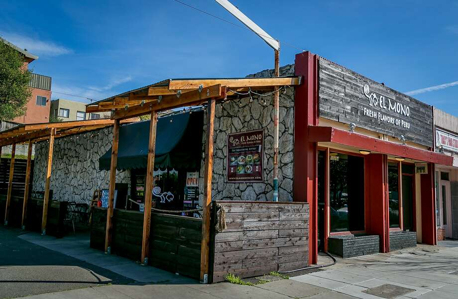 The exterior of El Mono in El Cerrito. Photo: John Storey, Special To The Chronicle