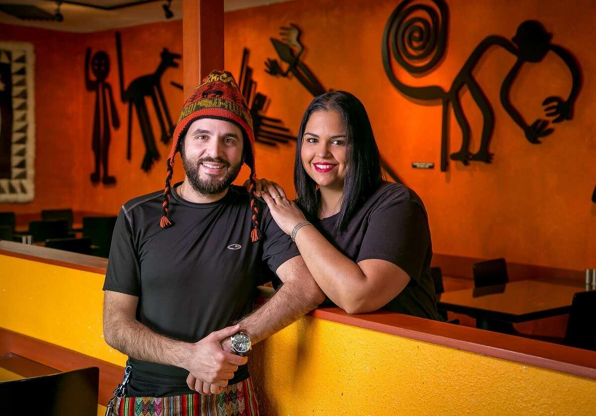 Owners Matt and Daniela Khadivian of El Mono in El Cerrito, Calif., are seen on Thursday, February 4th, 2016.