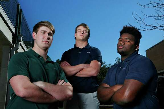 Three Episcopal football players find themselves among the Vypes Fab 50 - Walker Little (No. 4), from left, Jake LaVeVrier (No. 31) and Marvin Wilson (No. 1). In addition, Rivals ranks Wilson, a defensive tackle, No. 1 overall.