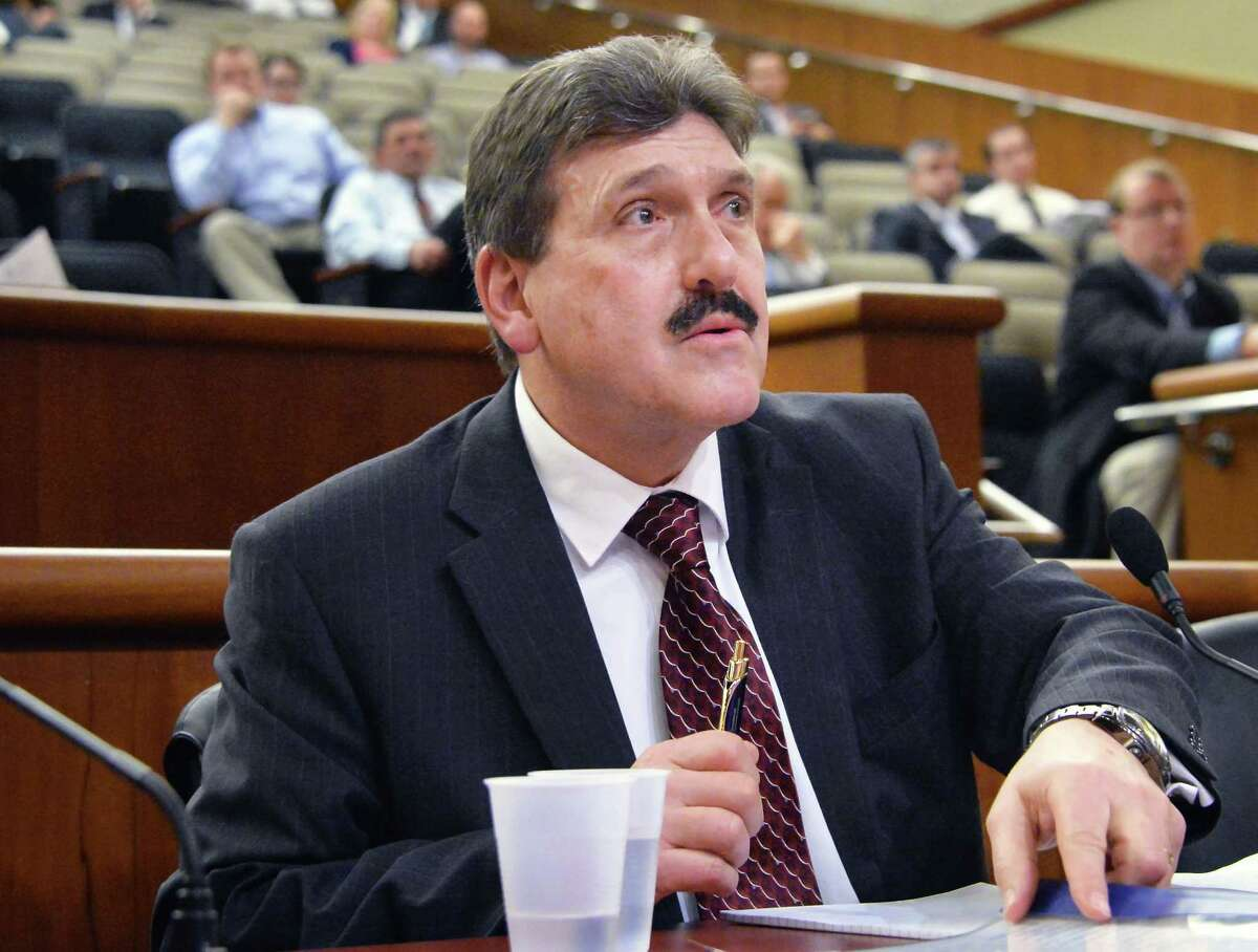 Acting Commissioner of the New York State Department of Corrections Anthony Annucci told a Senate panel Tuesday that his department has taken steps to contain the coronavirus in correctional facilities. (John Carl D'Annibale / Times Union)